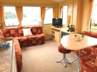 Starter Caravan for sale Looe Bay Holiday Park