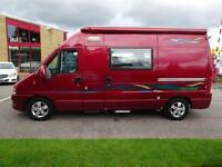 Fiat Ducato Timberland Freedom Campervan Motorhome