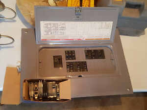 Electrical Panel and breakers