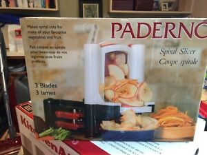 Paderno - Spiral Vegetable Slicer  NEW in BOX