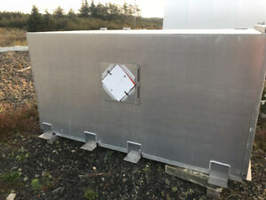 Aluminum explosives storage box
