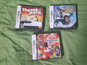 Assorted 3DS & DS games.