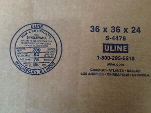 Boites ULINE (de carton) faite vite il en reste peux West Island Greater Montréal image 3