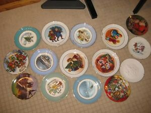 Avon Christmas Collectable Plates