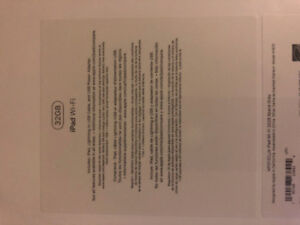 Factory Sealed 9.7 inch iPad Brand New
