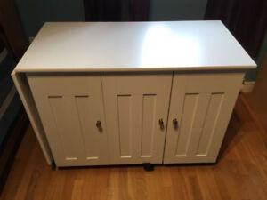 Sauder Sewing and Crafting Table