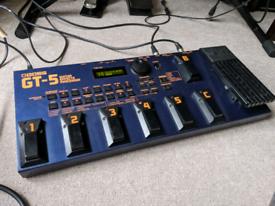 Boss GT-5 guitar multi-fx unit