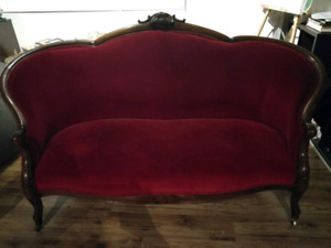 Mahogany Parlour Sofa and chairs