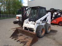 Bobcat for hire!