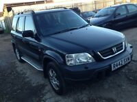 Honda CR-V lpg converted full leather 495