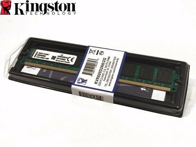 - Kingston ValueRAM 2GB DDR2 SDRAM Memory Module - 2GB (1 x 2GB) - 800MHz DDR2-800