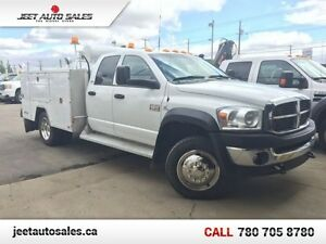 2008 Dodge Ram 4500 SLT QUAD CAB 4X4 MECHANICAL SERVICE BODY