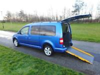 2013 Volkswagen Caddy Maxi Life 1.6 Tdi 22K WHEELCHAIR ACCESSIBLE VEHICLE WAV