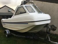 "Seahog Seatrooper 15'3"" fishing dinghy"