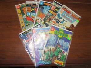 Vintage DC Super Hero Comic Book Collection Lot