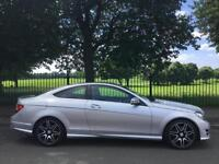 2013 63 MERCEDES-BENZ C CLASS 1.6 C180 BLUEEFFICIENCY AMG SPORT PLUS 2D AUTO 154