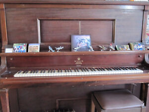 Player piano & rolls
