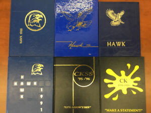 CKSS YEARBOOKS FOR SALE