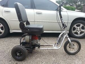 3 Wheel Gas Scooter