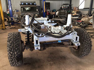 Land Rover Defender galvanized chassis/frame Peterborough Peterborough Area image 1