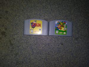 Nintendo 64 (N64) games.