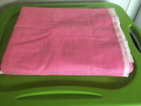 Pink Canvas fabric