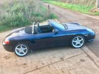 Porsche Boxster 2.7 2003/53 Facelift 73000 miles FSH Midnight Blue Metallic
