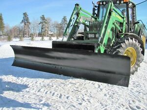 Blades and Attachments for large John Deere tractors