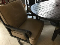 Gorgeous cast aluminum patio set