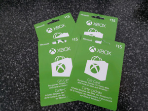 Xbox one cards