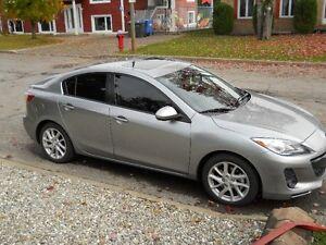 2012 Mazda3 GT 2.5L