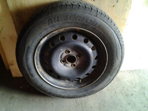 15 inch all weather tires honda civic rim