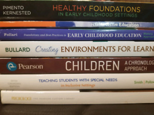 ECE (Early Childhood Education) Books..Great Price