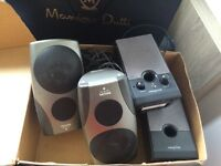 Two sets of computer speakers £15 good working order