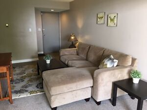 Furnished 2 bed plus den. 1200.00 utilities Inc.