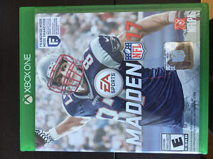 Madden 17 for Xbox one for sale!