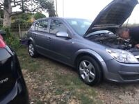 Astra h 1.4 Petrol 79,000 miles broken for parts