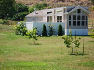 Customized Woodland Park 2 Bedroom Euro Park Model with upgrades