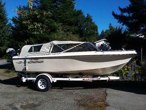 18' Boat,trailer & motor