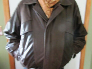 Man's Leather Brown Jacket
