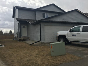 Pet Friendly 3 bedroom duplex in Camrose avail June 1st