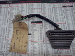 Régulateur voltage Honda Shadow VT 500 1983 - 86 31600-MF5-018