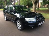 2009 SUBARU FORESTER 2.5 XT AUTOMATIC 5 DOORS BLACK