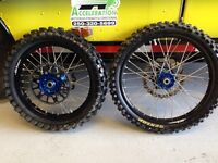 Set of Tallon rims for Kx 250 or 450
