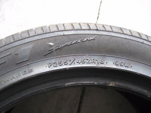 "2 eagle f1 tires 18"" Windsor Region Ontario image 3"