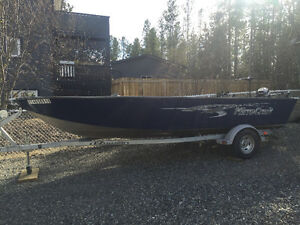 18' outfitter boat package