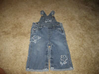 Children's Place overalls 12 months