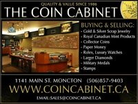 Buying: Gold, Silver, Paper Money, Luxury Watches, Coins, etc.