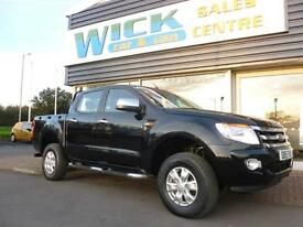 2015 Ford RANGER XLT 4X4 DCB TDCI Pickup *LOW MILES* Manual PICK UP