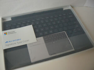 Surface PRO Keyboard Genuine Alcantara New (open box) 10/10